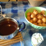 Ingredienti per profiterole