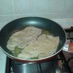 Scaloppine in cottura