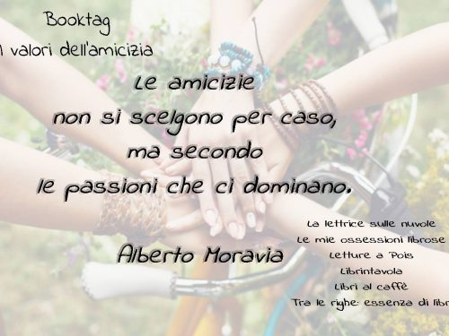 I valori dell'amicizia Book Tag