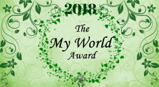 Book Tag – My World Award 2018
