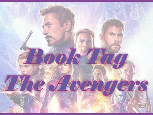 The Avengers Book Tag